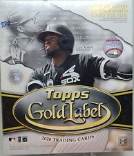 IN STOCK 2020 Topps Gold Label Baseball Factory Sealed Hobby Box Gold Frame AUTO