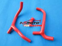 Silicone RADIATOR HOSE For Honda CRF450 CRF450R CRF 450 R 2009-2012 2010 11 RED