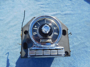 1955 Ford Crown Victoria Tube Deluxe Car Radio