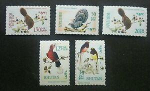 Bhutan Birds 1968 Pheasant Hornbill Fauna (stamp) MNH