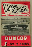 MOTOR RACING & IOTA 500cc Car Magazine October 1953 HALF LITRE CAR CLUB