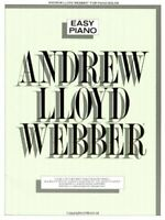 Andrew Lloyd Webber: Easy Piano (Music) by Lloyd Webber, Andrew Paperback Book