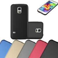 Silicone Case for Samsung Galaxy S5 MINI / DUOS Shock Proof Cover Mat Metallic