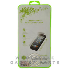 Tempered Glass Screen Protector for Apple iPhone 5 5S 5C SE