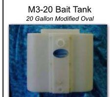 M3-20 Bait Tank 20 Gallon Modified Oval