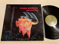 Black Sabbath Paranoid LP Warner Brothers 1st USA Press Gatefold Ozzy VG+!!!