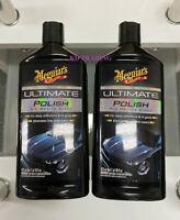 (2-Pack) Meguiar's ULTIMATE POLISH Auto Car Waxing Glaze Max Gloss G19216 ~ 16oz