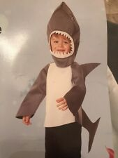 NWT 12-18 Months Infant Shark Costume Set Hood Top Tail