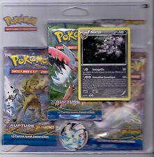 POKEMON PACK 3 BOOSTERS RUPTURE TURBO PROMO NOCTALI