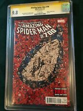 AMAZING SPIDER-MAN #700 (Autographed by Stan Lee) Death of Peter Parker CGC 9.8