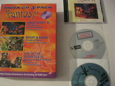 Fantasy Mega CD 3-pack Kings Quest VI, Might and Magic , Eye of Beholder III PC
