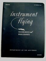 """1951 Booklet """"Instrument Flying Techniques & Procedures"""" Dept.of the Air Force *"""