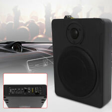 8'' 600W Car Under-Seat Active Subwoofer Power Amplifier Bass Slim Speaker