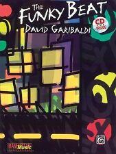 The Funky Beat by David Garibaldi Book With CD #3737