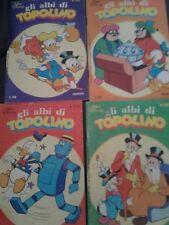 ALBI DI TOPOLINO ANNI 1978-79 n°1238-1240-1270-1287