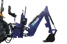"""50HP TRACTOR BACKHOE ATTACHMENT, 3 POINT LINKAGE INCLUDES 18"""" BUCKET"""