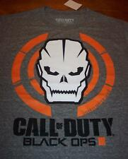 CALL OF DUTY BLACK OPS 3 III Video Game SKULL T-Shirt LARGE NEW w/ TAG