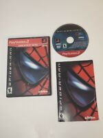 Spider-Man (PlayStation 2 PS2 2002) Greatest Hits Complete Marvel Game W Manual