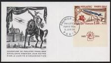Ersttagsbrief Frankreich Philatec Paris 1964 Weltall Raumfahrt Rakete Kosmos