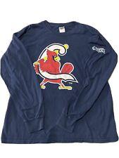 Springfield Cardinals St. Louis Long Sleeve T-Shirt Size Large Downstream Casino