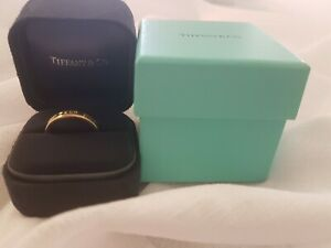 Tiffany and co gold ring