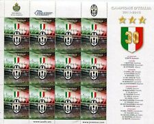 """SAN MARINO 2012 MINIFOGLIO """"JUVENTUS CAMPIONE D'ITALIA 2011-2012"""""""