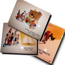 (3) Speechless Mel Blanc Friz Freleng Jones Tribute 8x10 Brand NEW Warner Bros