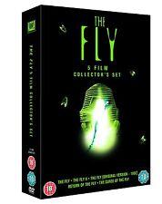 The Fly 5 Film Collection Original 50s+80s Versions DVD Jeff Goldblum Boxset New