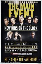 New Kids On The Block / Tlc / Nelly 2015 San Diego Concert Tour Poster