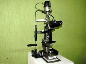 Slit Lamp Haag Streit Type 3 Step Galilean Binocular Microscope Free Shipping
