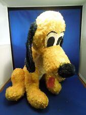 Walt Disney Pluto Plush Toy Stuffed Animal Dog Mid-Century Disneyland Disneyana