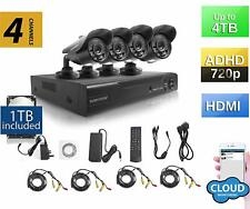 [REF] SUMVISION 4 Channel DVR HD 720p 1TB 3 in 1 Security System with 4 Cameras