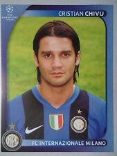Panini 302 cristian chivu FC Internazionale uefa cl 2008/09