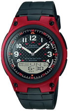 Casio AW-80-4BV Analog Digital Watch 10 Year Battery 30 Page Data World Time New