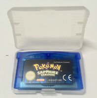 Pokémon Versione Zaffiro Italiana For Gameboy Advance GBA SP DS DS-Lite