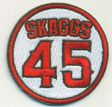2019 Tyler Skaggs Memorial Jersey Patch - Los Angeles Angels