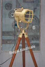 Marine Search light Floor Lamp,Designer Nautical Spot Studio Tripod Floor Lamps