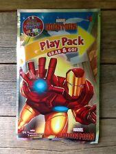 IRON MAN Children's Activity Play Pack Grab & Go Travel Entertainment