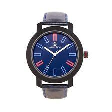 Ashton Carter Casual Blue / Black Watch - AC-1012-A- 2 Year MANUF WRNTY