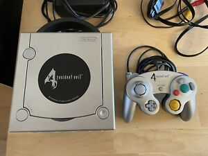 Nintendo Gamecube Resident Evil 4 Limited Edition Rare Console