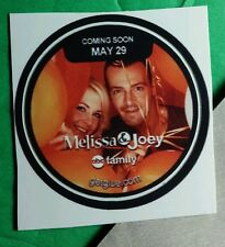 MELISSA & JOEY JOAN HART LAWRENCE. ABC FAM CAST GROUP TV PHOTO GET GLUE STICKER