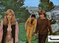 JACQUELINE BISSET MARC POREL LA PROMESSE SECRET WORLD 1969 VINTAGE LOBBY CARD 15