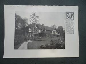 1911 Bosten Gartenarchitektur Boston Olmsted Brothers