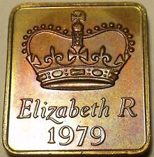 Great Britain 1979 Proof Set Medallion~Great For Special Year Memories~Free Ship