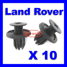 LAND ROVER DISCOVERY 2 FRONT COWL RADIATOR GRILLE PLASTIC CLIPS DYQ100230 BLACK