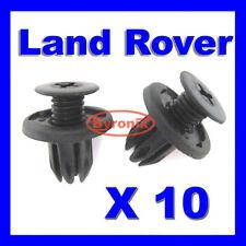 LAND Rover Discovery 2 Anteriore Cappuccio Griglia Radiatore Plastica Clip dyq100230 NERO