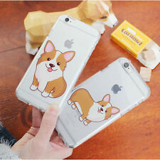Welsh Corgi Jelly Case Galaxy S20 S20 Plus S20 Ultra Case made in Korea