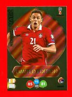 WC RUSSIA 2018 -Panini Adrenalyn-Card Limited Edition Brasil- MATIC - SERBIA