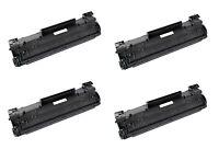 4x Toner für HP LaserJet P1505N MFP M1120 M1120N M1522N M1522NF 36A CB436A