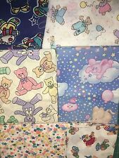 COTTON SCRAP BAGS- Children's Fabric 8